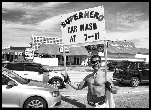 superhero car wash